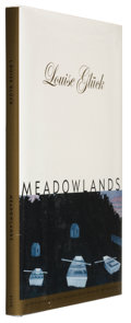 Books:Signed Editions, Louise Gluck. Meadowlands. Hopewell, New Jersey: The Ecco Press, 1996. First edition. Inscribed, signed and da...