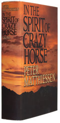Books:Signed Editions, Peter Matthiessen. In the Spirit of Crazy Horse. New York:The Viking Press, 1983. First edition. Signed by th...