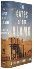 Books:Signed Editions, Stephen Harrigan. The Gates of the Alamo. New York: Alfred A. Knopf, 2000. First edition. Signed and dated in ...