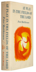 Books:Signed Editions, Peter Matthiessen. At Play in the Fields of the Lord. NewYork: Random House, 1965. First printing. Signed by ...