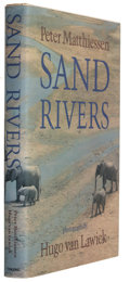 Books:Signed Editions, Peter Matthiessen. Sand Rivers. New York: The Viking Press, 1981. First edition. Signed by the author on the t...