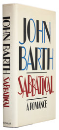 Books:Signed Editions, John Barth. Sabbatical. New York: G. P. Putnam's Sons, 1982. First edition. Signed by the author on the titl...