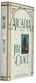 Books:Signed Editions, Jim Crace. Arcadia. New York: Atheneum, 1991. First edition. Signed by the author on the title page. Publish...