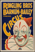 """Movie Posters:Miscellaneous, Circus Poster (Ringling Brothers and Barnum & Bailey, 1930s). Poster (28"""" X 40.5""""). Miscellaneous.. ..."""