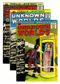 Silver Age (1956-1969):Horror, Unknown Worlds Group (ACG, 1960).... (Total: 6 Comic Books)
