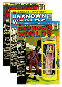 Unknown Worlds Group (ACG, 1960).... (Total: 6 Comic Books)
