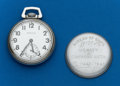 Timepieces:Pocket (post 1900), Type: Hamilton, 17 Jewel, Grade 2974B. ...