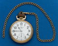 Timepieces:Pocket (post 1900), Ball, 21 Jewel, 999B. ...