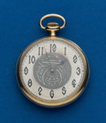 Timepieces:Pocket (post 1900), Waltham, 14k, 12 Size Open Face. ...