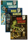 Silver Age (1956-1969):Horror, Boris Karloff Tales of Mystery File Copy Group (Gold Key,1960s-70s) Condition: Average VF+.... (Total: 59 Comic Books)