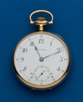 Timepieces:Pocket (post 1900), Howard, 16 Size, 14k, 17 Jewel. ...