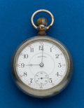 Timepieces:Pocket (post 1900), Illinois, 15 Jewel, Liberty Bell, Non Running. ...