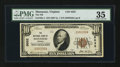 National Bank Notes:Virginia, Manassas, VA - $10 1929 Ty. 1 The NB of Manassas Ch. # 5032. ...