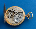 Timepieces:Pocket (post 1900), South Bend, Grade 298, 14k, 16 Size Hunters Case, Rare Dial. ...