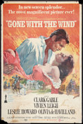 "Movie Posters:Academy Award Winners, Gone with the Wind (MGM, R-1970). Poster (30"" X 40""). Academy AwardWinners.. ..."