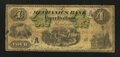 Canadian Currency: , Montreal, PQ- The Mechanics Bank $4 June 1, 1872 Ch. # 430-10-04. ...