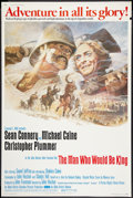 """Movie Posters:Adventure, The Man Who Would Be King Lot (Allied Artists, 1975). Posters (2) (40"""" X 60""""). Adventure.. ... (Total: 2 Items)"""