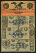 Obsoletes By State:Louisiana, New Orleans, LA- Canal & Banking Co. $10; $20; $50; $100 G26a; G32a; G44a; G56a. ... (Total: 4 notes)