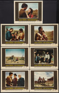 "Movie Posters:Western, The Searchers (Warner Brothers, 1956). Lobby Cards (7) (11"" X 14""). Western.. ... (Total: 7 Items)"