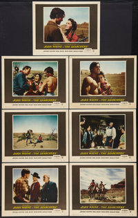 "The Searchers (Warner Brothers, 1956). Lobby Cards (7) (11"" X 14""). Western. ... (Total: 7 Items)"