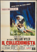 "Movie Posters:Thriller, The Collector (Columbia, 1965). Italian 2 - Foglio (39"" X 55"").Thriller.. ..."