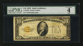 Small Size:Gold Certificates, Fr. 2400 $10 1928 Gold Certificate. PMG Good 4.. ...