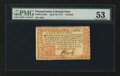 Colonial Notes:Pennsylvania, Pennsylvania April 10, 1777 £4 PMG About Uncirculated 53.. ...