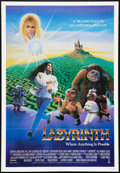 "Movie Posters:Fantasy, Labyrinth Lot (Tri-Star, 1986). One Sheets (2) (27"" X 41"").Fantasy.. ... (Total: 2 Items)"