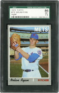 Baseball Cards:Singles (1970-Now), 1970 Topps Nolan Ryan #712 SGC 86 NM+ 7.5....