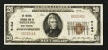 National Bank Notes:West Virginia, Wheeling, WV - $20 1929 Ty. 1 The National Exchange Bank Ch. # 5164. ...