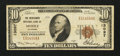 National Bank Notes:Alabama, Mobile, AL - $10 1929 Ty. 1 Merchants NB Ch. # 13097. ...
