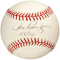 "Baseball Collectibles:Balls, Alex Rodriguez ""40/40"" Single Signed Baseball.. ..."