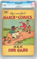 Golden Age (1938-1955):Cartoon Character, March of Comics #3 Our Gang (K. K. Publications, Inc., 1947) CGCFN/VF 7.0 Off-white pages....