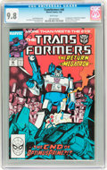 Modern Age (1980-Present):Science Fiction, Transformers #48 (Marvel, 1989) CGC NM/MT 9.8 White pages....