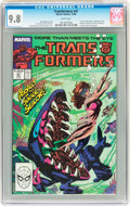 Modern Age (1980-Present):Science Fiction, Transformers #47 (Marvel, 1988) CGC NM/MT 9.8 White pages....