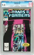 Modern Age (1980-Present):Science Fiction, Transformers #46 (Marvel, 1988) CGC NM/MT 9.8 White pages....