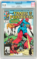 Modern Age (1980-Present):Science Fiction, Transformers #33 (Marvel, 1987) CGC NM/MT 9.8 White pages....