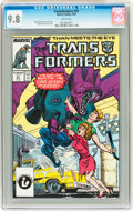Modern Age (1980-Present):Science Fiction, Transformers #31 (Marvel, 1987) CGC NM/MT 9.8 White pages....