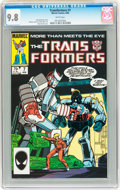 Modern Age (1980-Present):Science Fiction, Transformers #7 (Marvel, 1985) CGC NM/MT 9.8 White pages....
