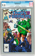 Modern Age (1980-Present):Science Fiction, Transformers #14 (Marvel, 1986) CGC NM/MT 9.8 White pages....