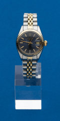 Timepieces:Wristwatch, Rolex Lady's Two Tone Ref. 6900 Datejust, circa 1979. ...