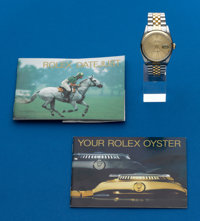 Rolex Gent's Ref. 16233 Two Tone Oyster Perpetual Datejust, circa 1987