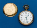 Timepieces:Pocket (post 1900), Ball 17 Jewel Official Railroad Standard, No. B225348. ...
