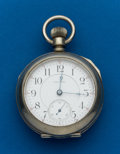 Timepieces:Pocket (post 1900), Waltham 21 Jewel Model 92, 18 Size Crescent St.. ...