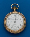 Timepieces:Pocket (post 1900), Hamilton 21 Jewel Grade 940. ...