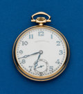 Timepieces:Wristwatch, Grogan & Co. Gent's 14k Gold Pocket Watch by Wittnauer. ...