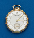 Timepieces:Pocket (post 1900), Concord Gent's 14k Gold Pocket Watch For Hennegen Bates Co.. ...
