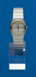 Timepieces:Wristwatch, Concord Lady's Steel & Gold Mariner. ...