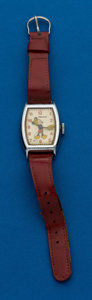 Timepieces:Wristwatch, Ingersoll, U.S. Time Mickey Mouse Watch. ...
