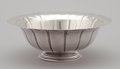 Silver Holloware, American:Bowls, AN AMERICAN SILVER FLUTED BOWL. Frank Whiting & Co., NorthAttleboro, Massachusetts, circa 1910. Marks: (W in circle),STE...